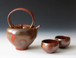 Shino Teapot Set