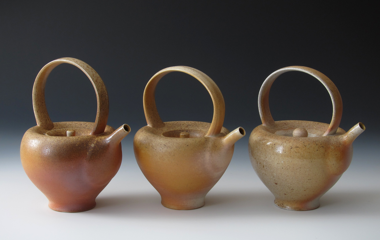 Red Deer Woodfired Teapots