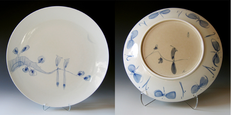 Paradise Birds Platter