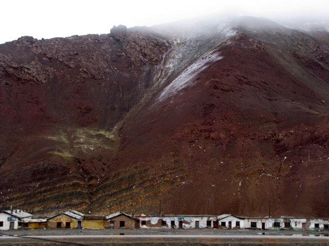 View From The Train To Tibet