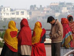 Waiting In Line, Delhi, India
