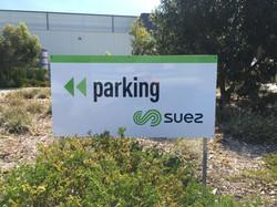 SUEZ Site Signs