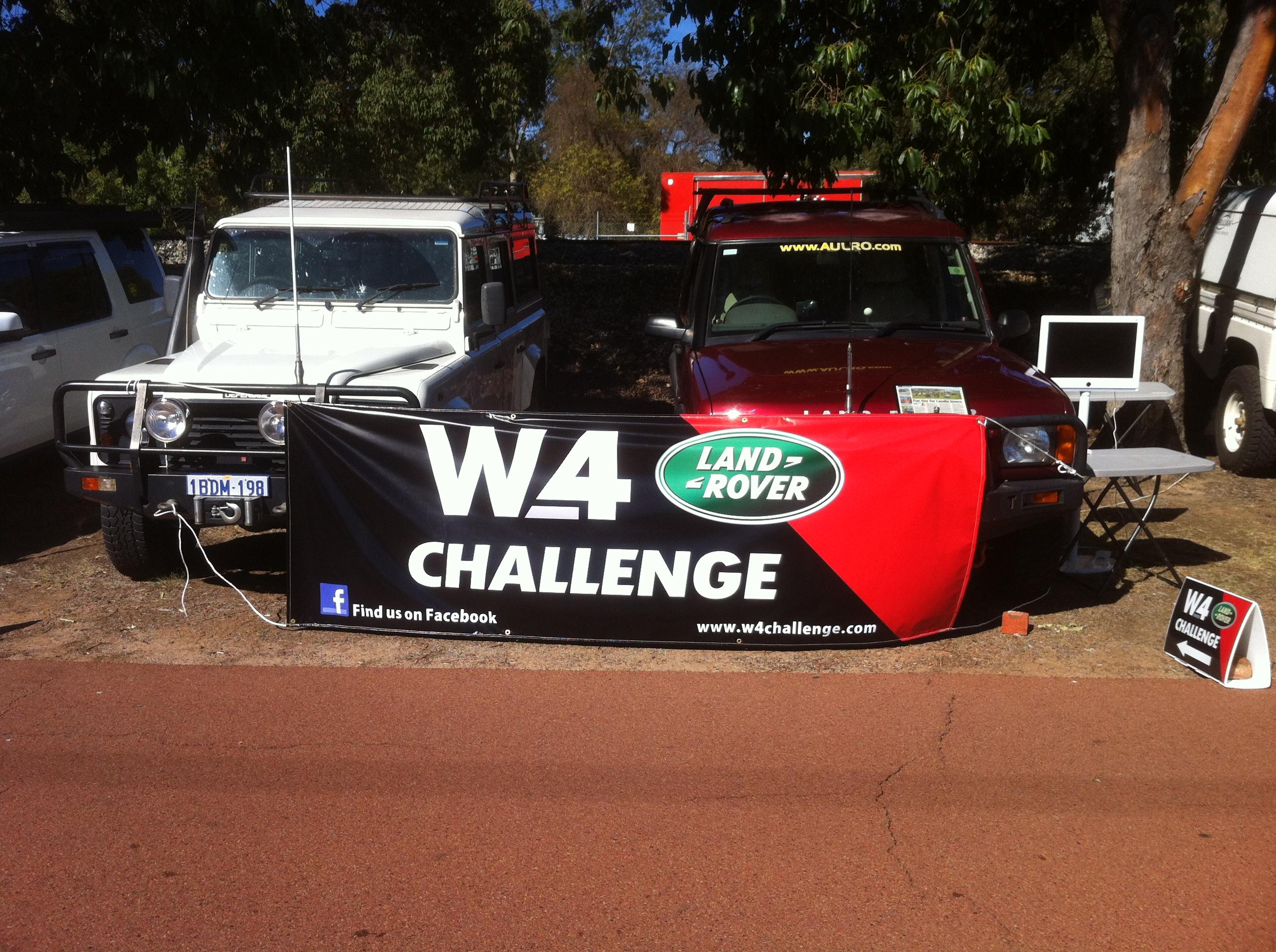 Team W4 Banner