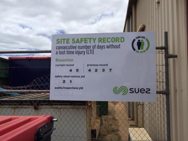 SUEX Site Signs