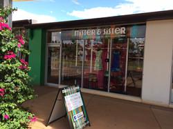 Mister & Sister Shopfront
