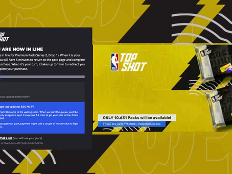 Can We Talk About the NBA Top Shot Premium Pack Drop Today and its Aftermath?