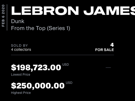 Forbes: How Did A LeBron James Video Highlight Sell For $71,455? A Look At NBA Top Shot