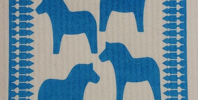 Dala Horses - Blue