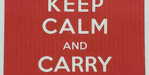 Keep Calm-Red