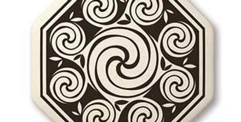 Spirals: Octagon Celtic Pendant