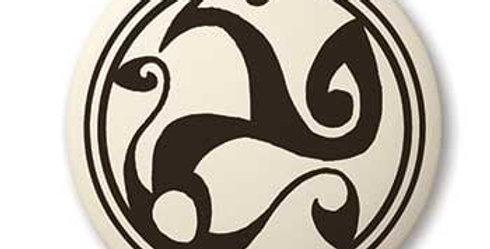 Spirals: Round Celtic Pendant