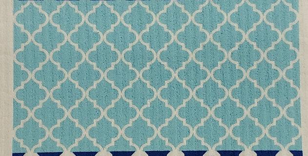 Moroccan Tile - Blue