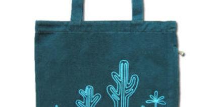 Canvas 4-Pocket Tote: Cactus