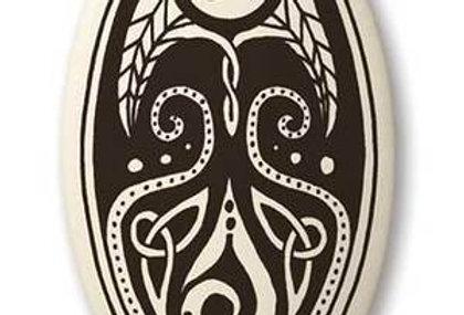 Cerridwen: Oval Celtic Pendant