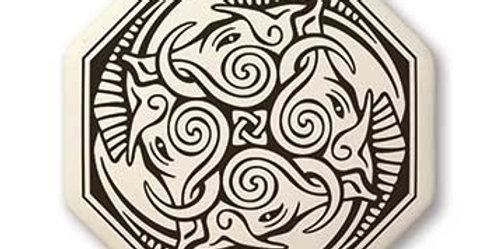 Cerridwen: Octagon Celtic Pendant