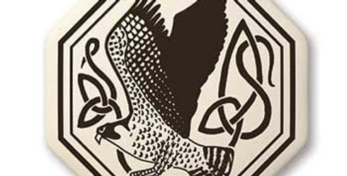 Birds: Octagon Celtic Pendant
