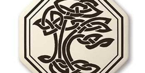 Sacred Tree: Octagon Celtic Pendant