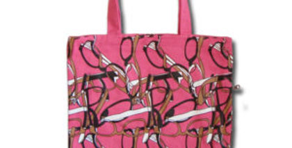 Canvas 4-Pocket Tote: I See You