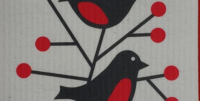 Birds - Red
