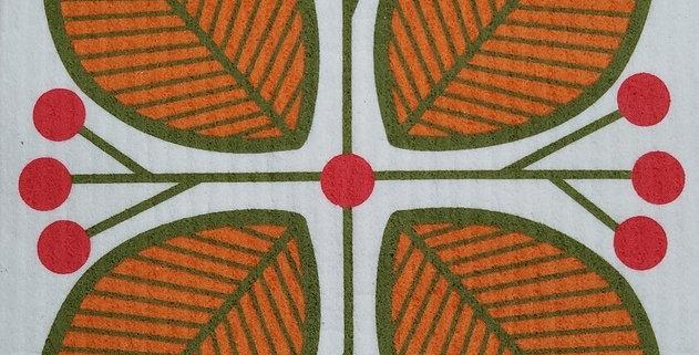 Leaves & Berries - Orange