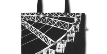 Canvas 4-Pocket Tote: Ferris Wheel