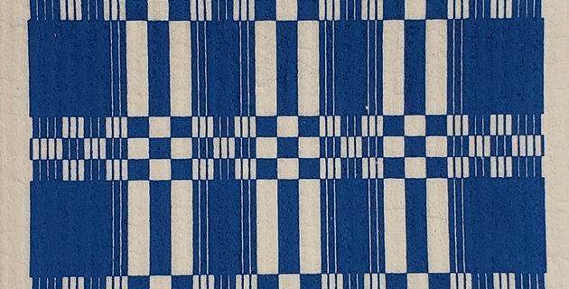 Folk Weave - Blue