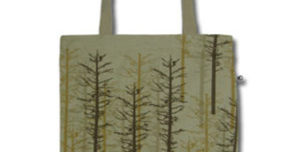 Canvas 4-Pocket Tote: Northwoods