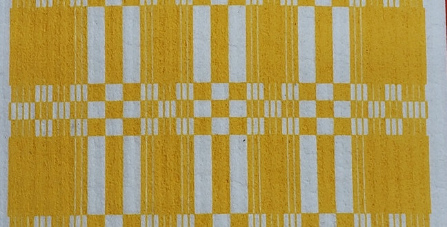 Folk Weave - Yellow