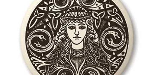 Brigantia: Round Celtic Pendant