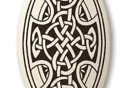 Celtic Cross: Oval Celtic Pendants