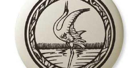 Whooping Crane: Pathfinder Pendant