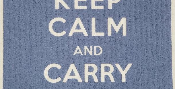 Keep Calm - Blue
