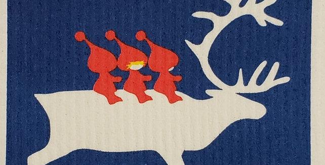 Reindeer & Tomte