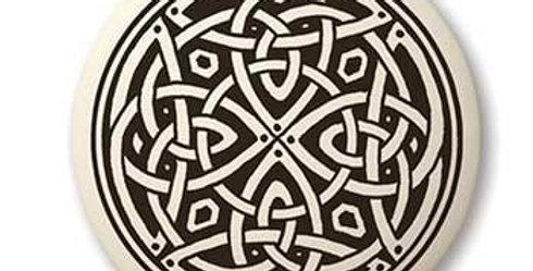 Knotwork: Round Celtic Pendant