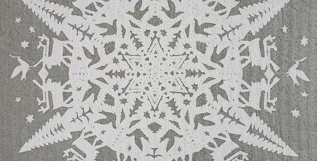 Papercut Snowflake