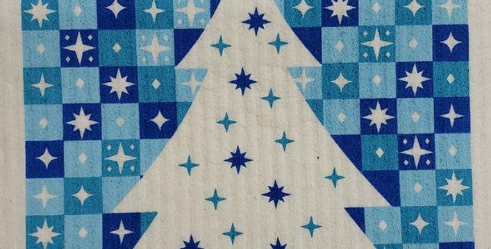 Starry Tree - Blue