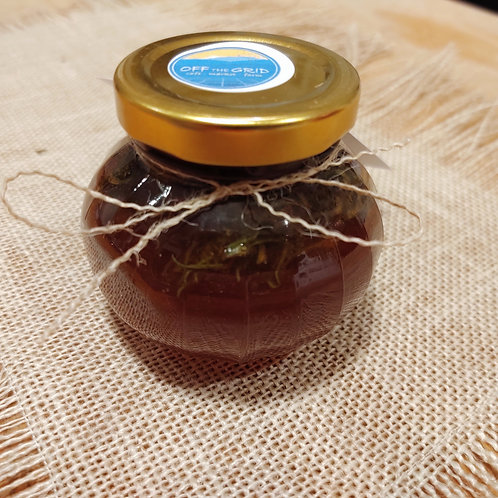 Hemp Flower Infused Honey - 4 oz