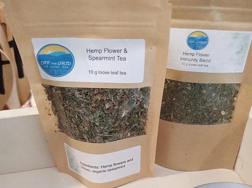 Hemp Flower Chill Blend - 10 g loose leaf tea