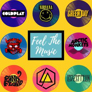 Feel the music, music lover, vinyl, arctic monkeys, green day, linkin park, pink floyd, led zepplin, gorrilaz, coldplay, nirvana