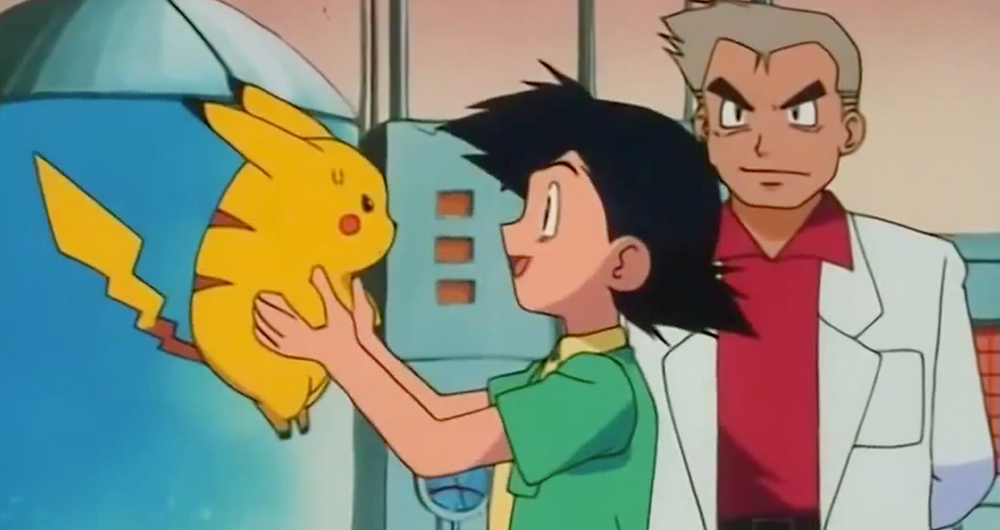 Pokemon, Ash, Ketchum, Ash Ketchum, Oak, Prof Oak, Professor Oak, Pikachu, Lab, First Episode, Pokemon Episode