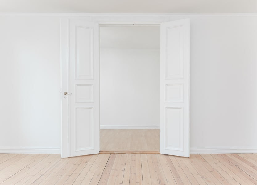 Minimalism, The Minimalist, Minimal, Empty Space, Beauty in Nothingness, Nothing, White Walls, Space, Emptiness, Minimalist Art, Art, Beauty, Door, White Door, Opportunity, Open Door