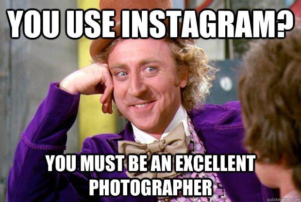 Instagram, old memes, old meme format, okay boomer, social media, understanding social media, photographer, what is tis new stuff?, am I getting old?