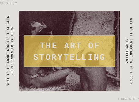 We Need to Learn How to Tell the Stories We Have!