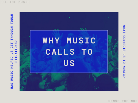 Why music is a living, breathing entity...