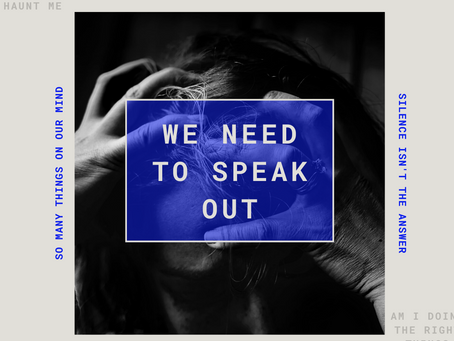 Why Speaking Out is Important When it Comes to Mental Health