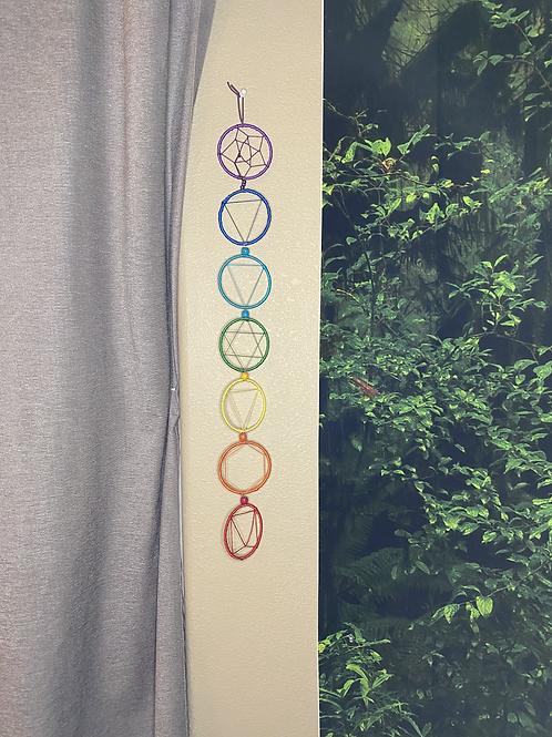 Chakra Symbols Dreamcatcher