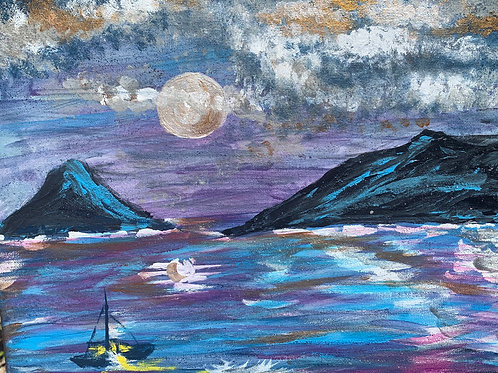 Moonlight on the Ocean