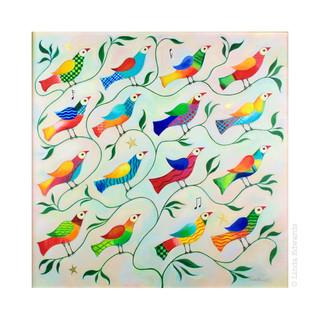 The Singing Tree - Sixteen Birds SOLD