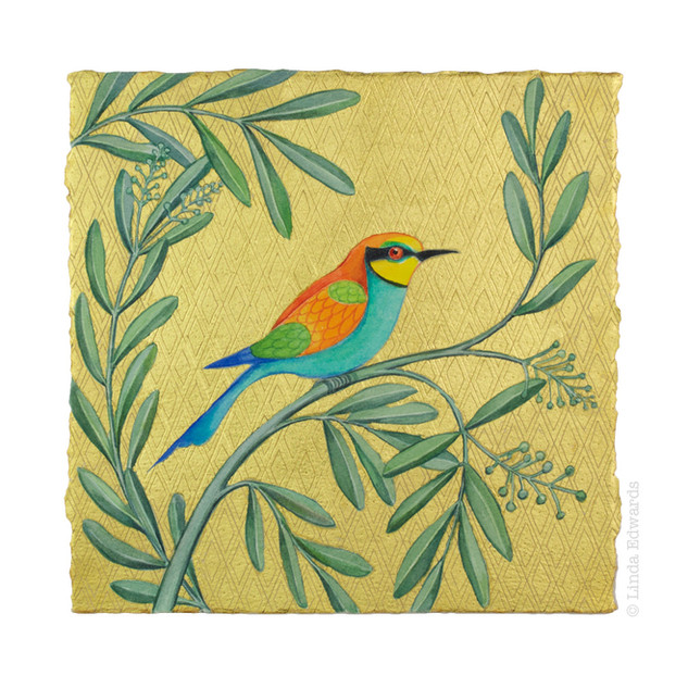 Bee-eater in an Olive Tree SOLD