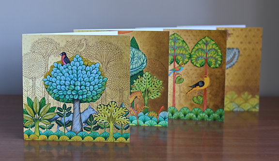 In Woods and Gardens - Cards